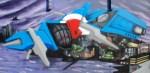 RAF spaceship