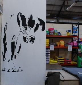 Dalmatian stencil