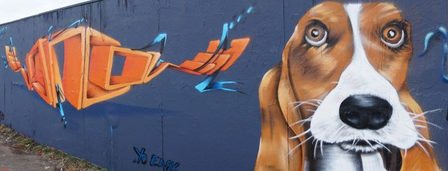 graffiti dog
